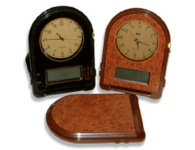 foldable world alarm clock 