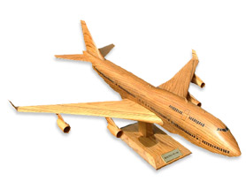 wooden model airplane 
